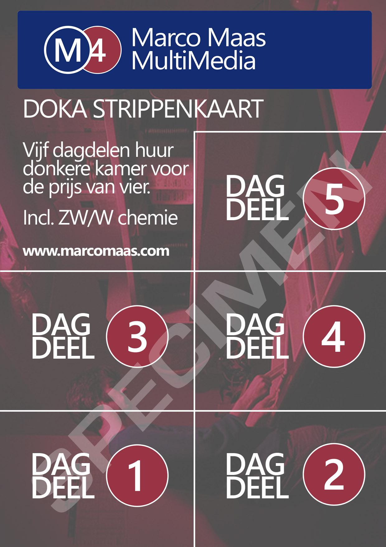 Huur de Doka voordelig met de strippenkaart!