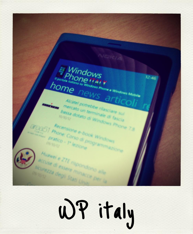 WindowsPhoneItaly nu beschikbaar in de Store