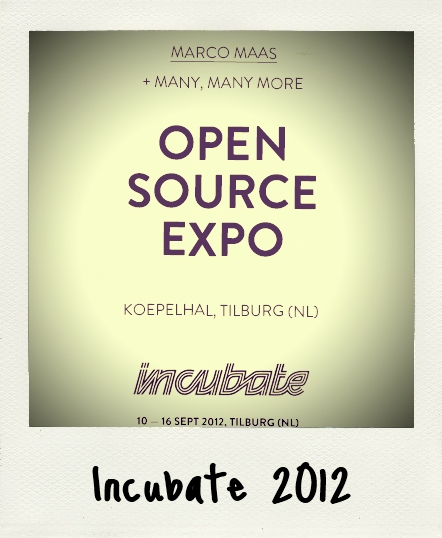 Incubate Open Source Expo 2012